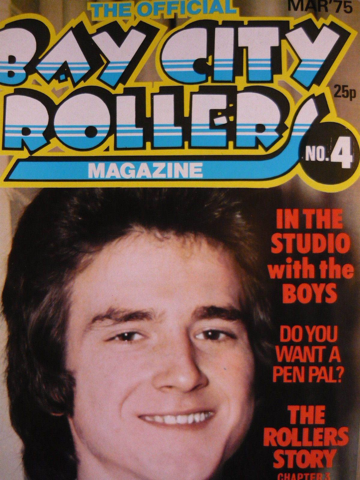 THE OFFICIAL BAY CITY ROLLERS MAGAZINE - NO 4 MARCH 1975 | eBay
