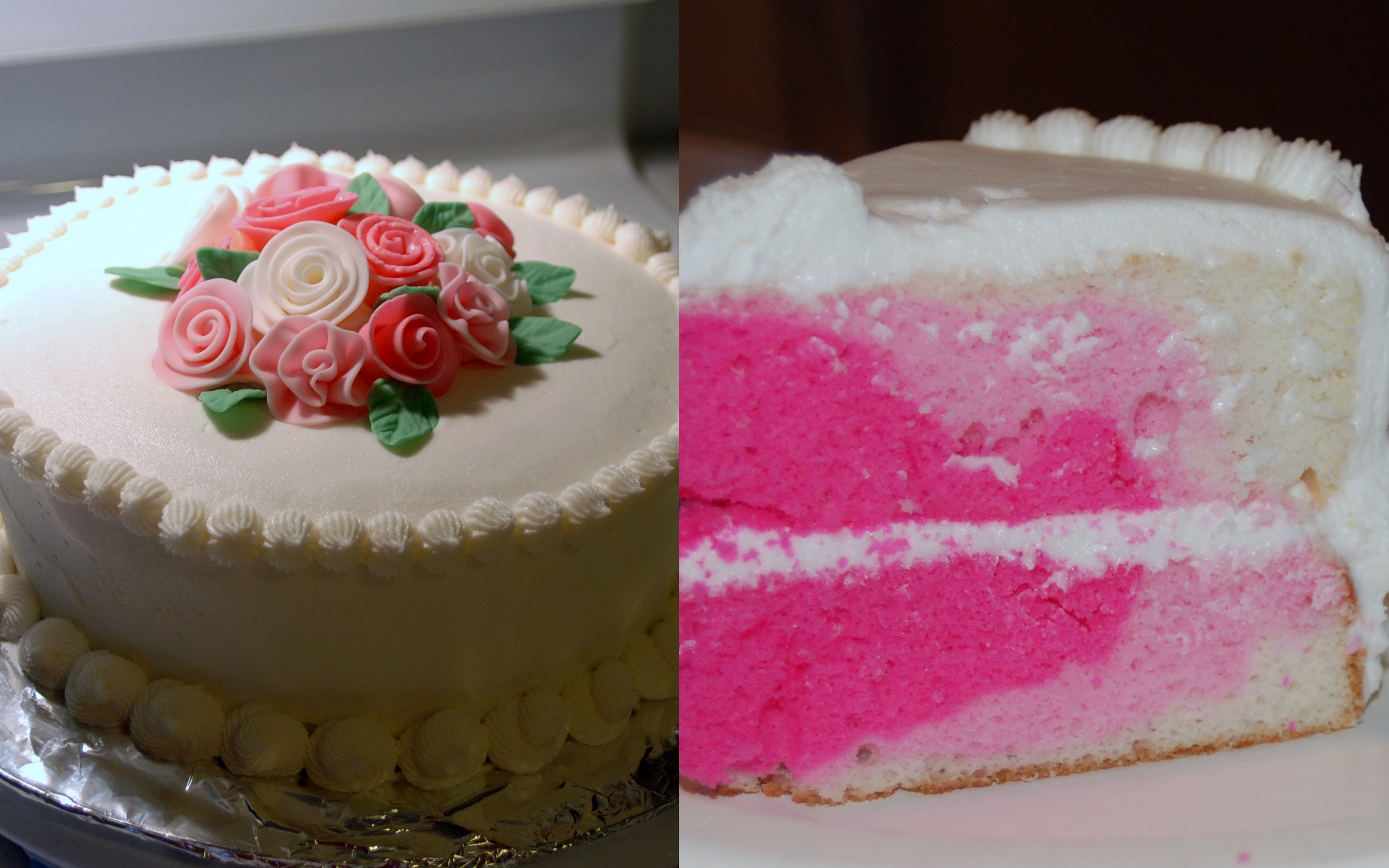 Last minute cake for Valentine's Day