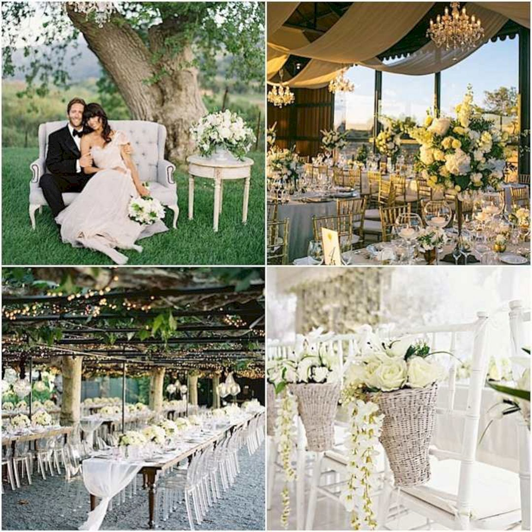 30+ marvelous romantic garden wedding theme ideas | garden