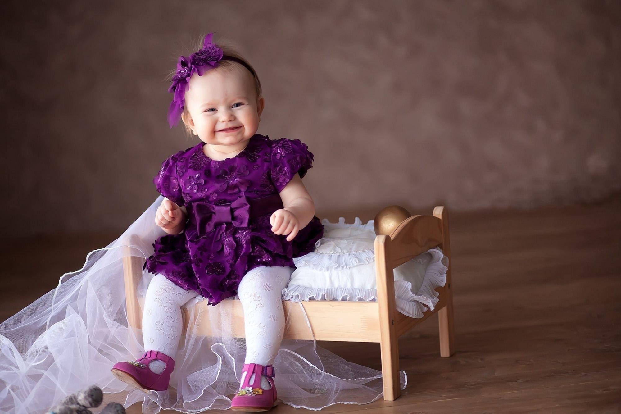 baby girl purple Kayskehauk