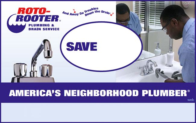 picture about Roto Rooter Coupons Printable identified as Roto-Rooter Plumbing Drain Cleansing Discount codes Random