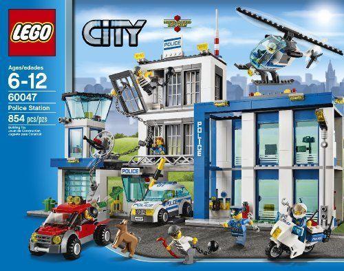 LEGO City Police Station Set Buliding Toys Kids Play Policeman ...