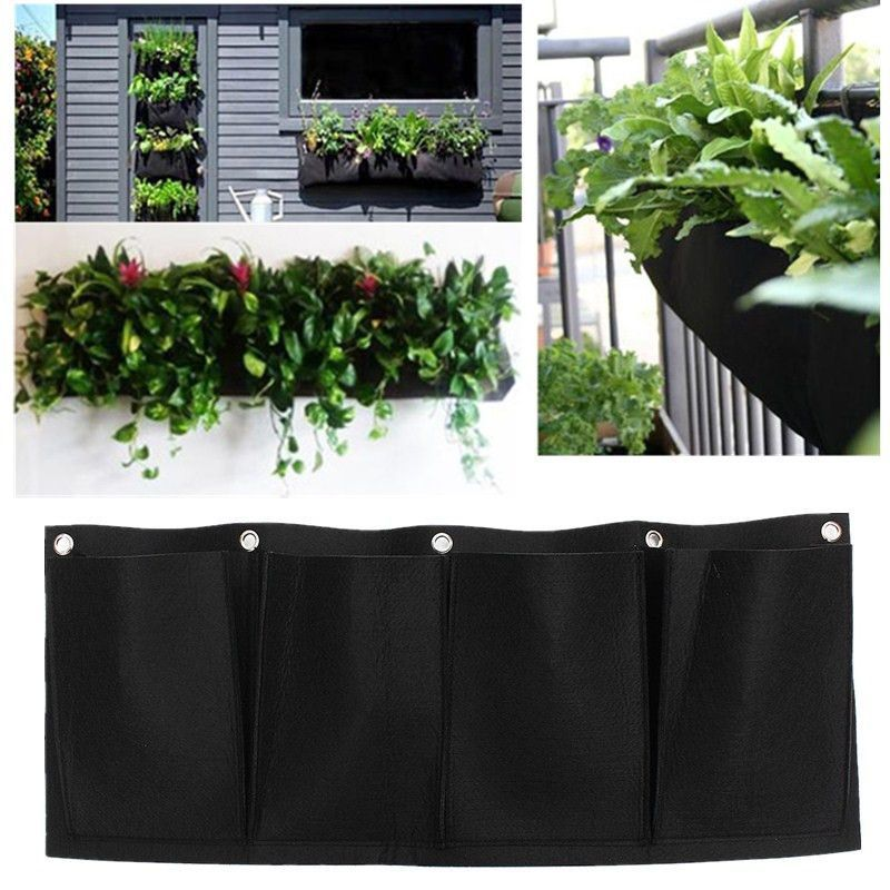 Vertical Garden Outdoor Hanging Wall Planter (With Images
