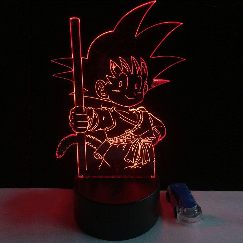 Dragon Ball Z Son Goku Table Lamp Price 29 99 Free Shipping Dragonballz Onepiece Attackontitan Naruto Fa Night Light Kids Kids Bedroom Decor Lamp