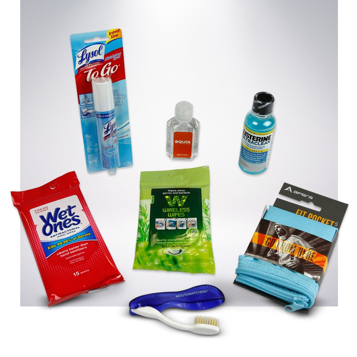 Take Along The Ultimate Germ Fighting Travel Kit When You Head Out