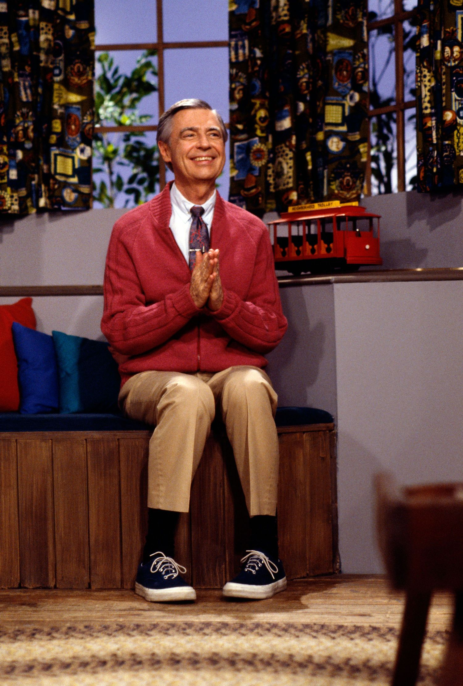 High Five Your Inner Toddler A Movie About Mr Rogers Is On The Way Mr Rogers Fred Rogers Mister Rogers Neighborhood