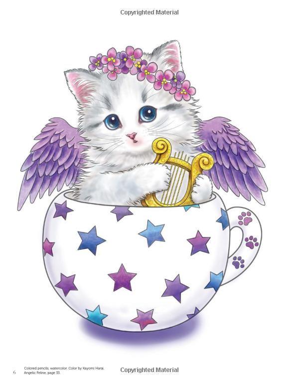 Teacup Kittens Coloring Book Kitten Coloring Book Kittens Coloring Teacup Kitten
