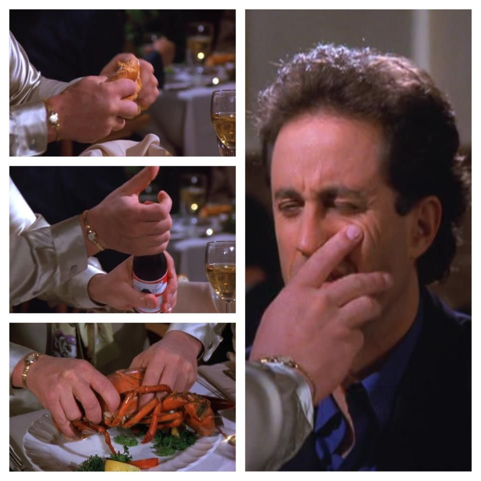 Seinfeld man hands full episode