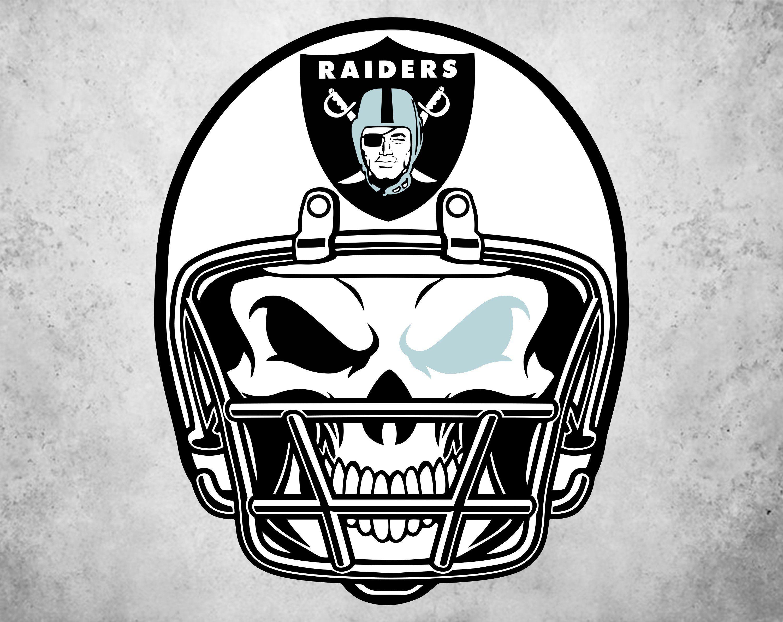 Oakland Raiders helmet Svg, Raiders Svg, NFL svg, Football