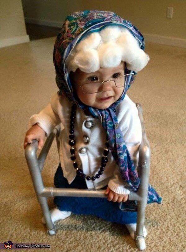 Granny Baby  sc 1 st  Pinterest & Granny Baby | Halloween | Pinterest | Babies Costumes and Halloween ...