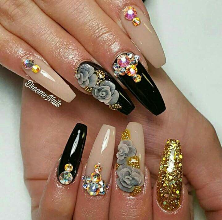 Pinterest: @xosogorgeous | Diseño de uñas elegancia | Pinterest ...