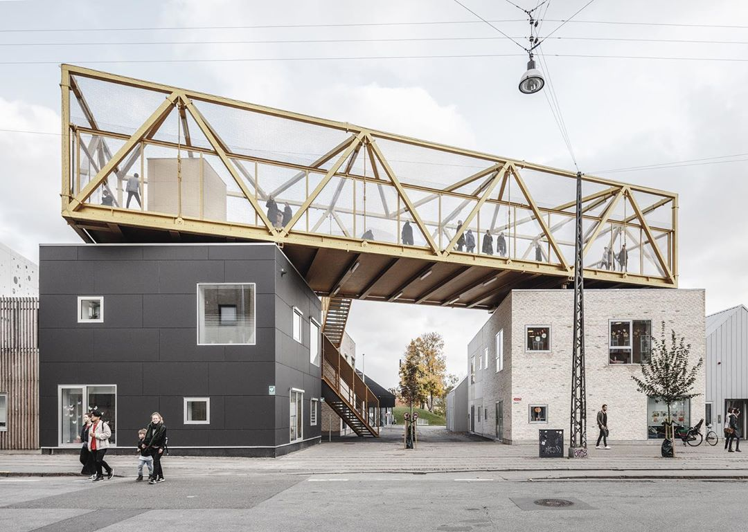 Cobe On Instagram Three Years Ago Kids City The Largest Preschool And Youth Club In Denmark Opened Its Doors T In 2020 Architecture Nord Scandinavian Architecture