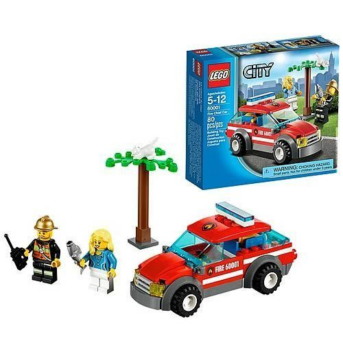 LEGO City 60001 Fire Cheif Car New/Sealed!! Retired Set ~ 80pcs Ages 5+ #LEGO