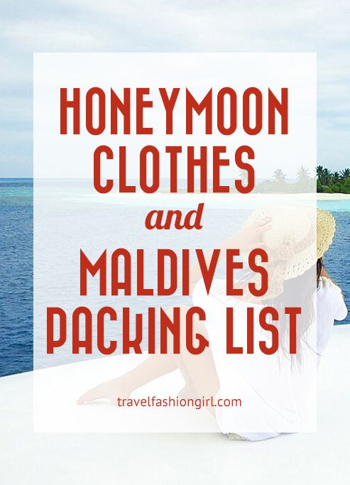 Honeymoon Clothes that are Practical and Pretty (Maldives Packing List) #beachhoneymoonclothes