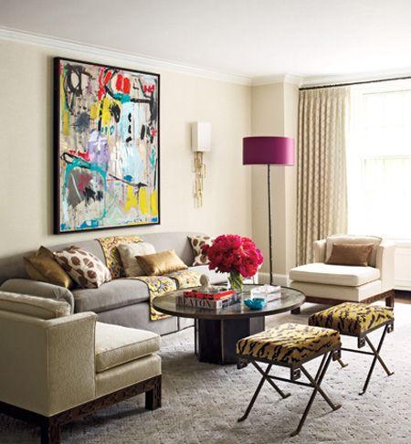 Ashley Stark Elle Decor Living Room