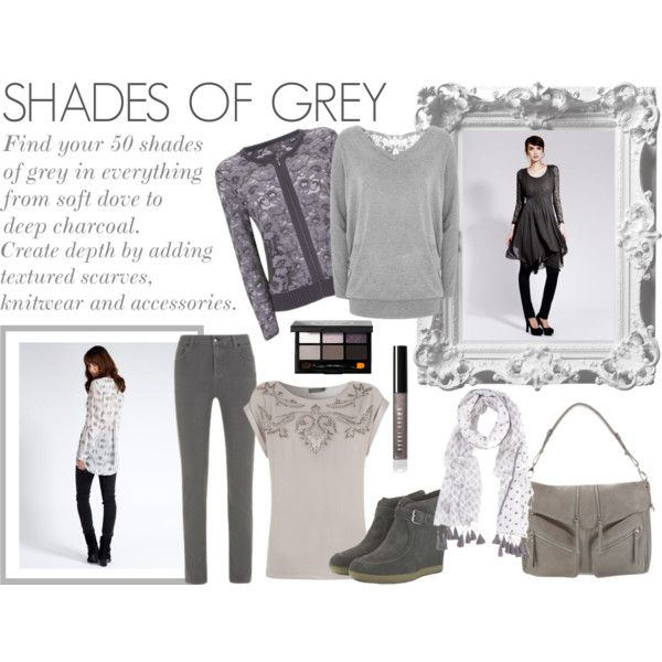 Shades of Grey by mint-velvet on Polyvore