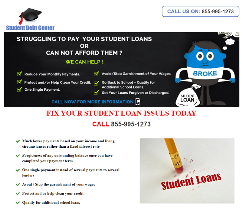Look here for Student Debt Relief.  Check it out.  Terry