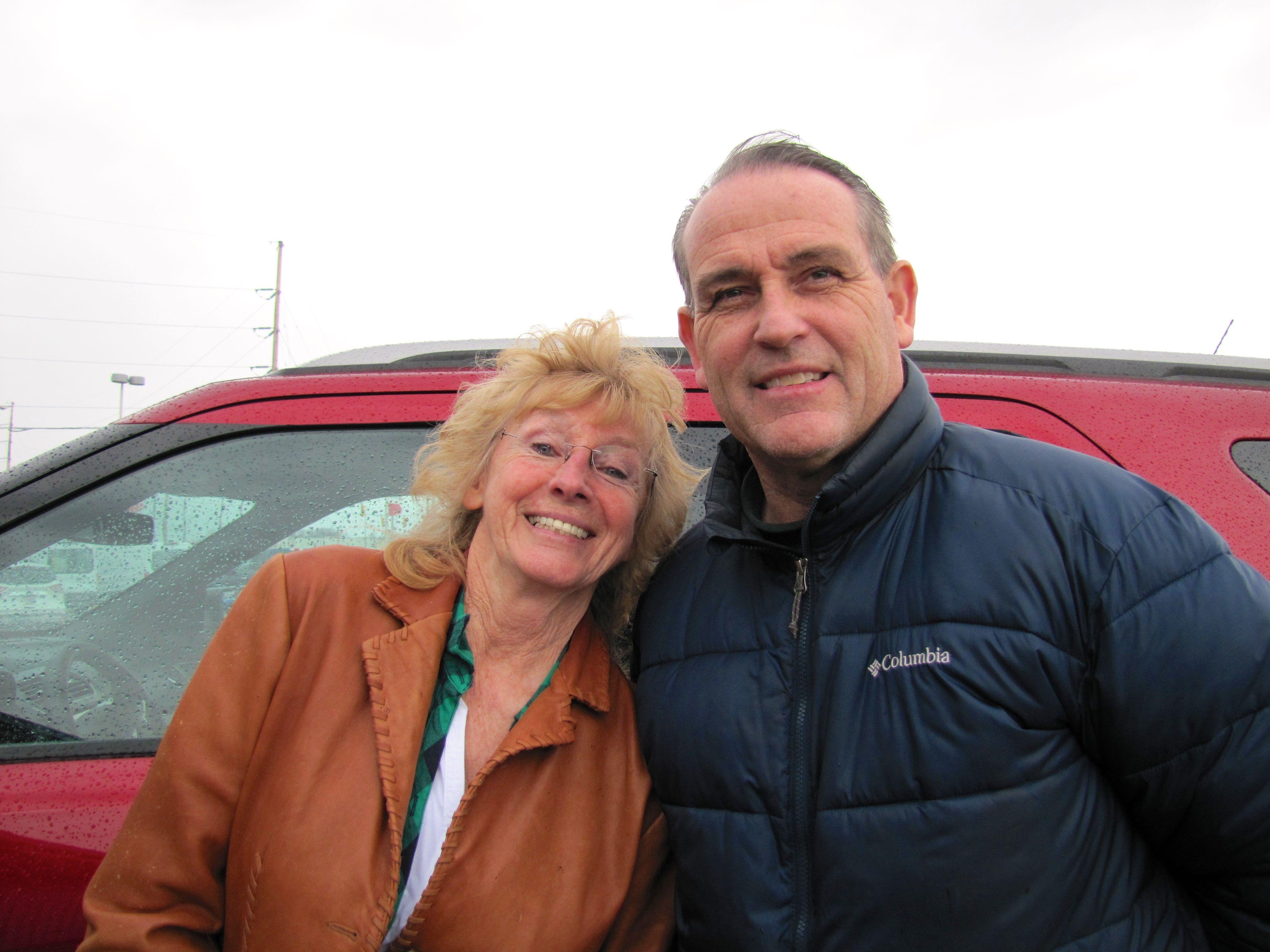 Picture Henrietta Adkins With Kelly Belcher Congratulations Etta