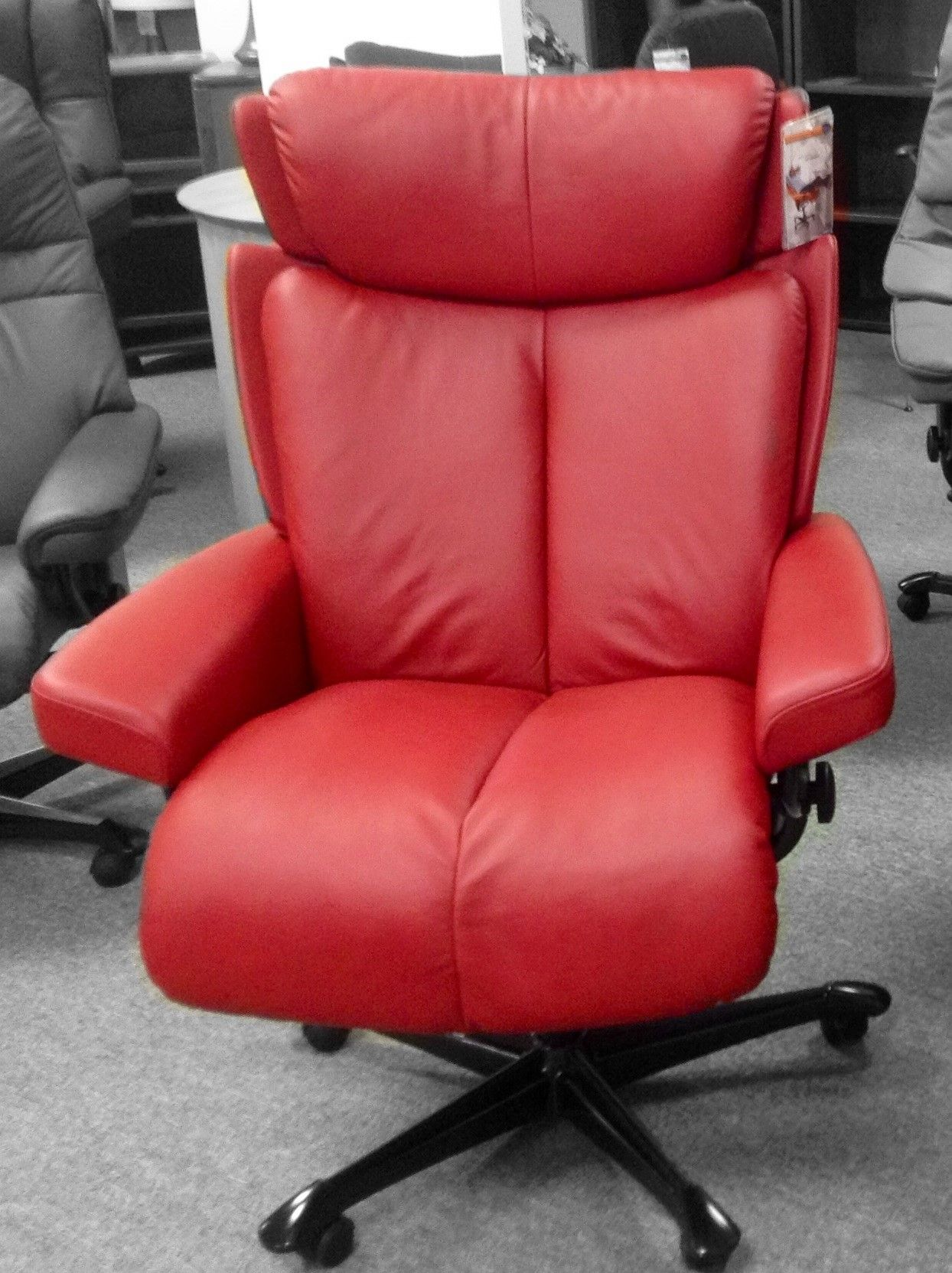 Stressless Outlet Stressless Magic Office Chair Paloma Cherry Available At