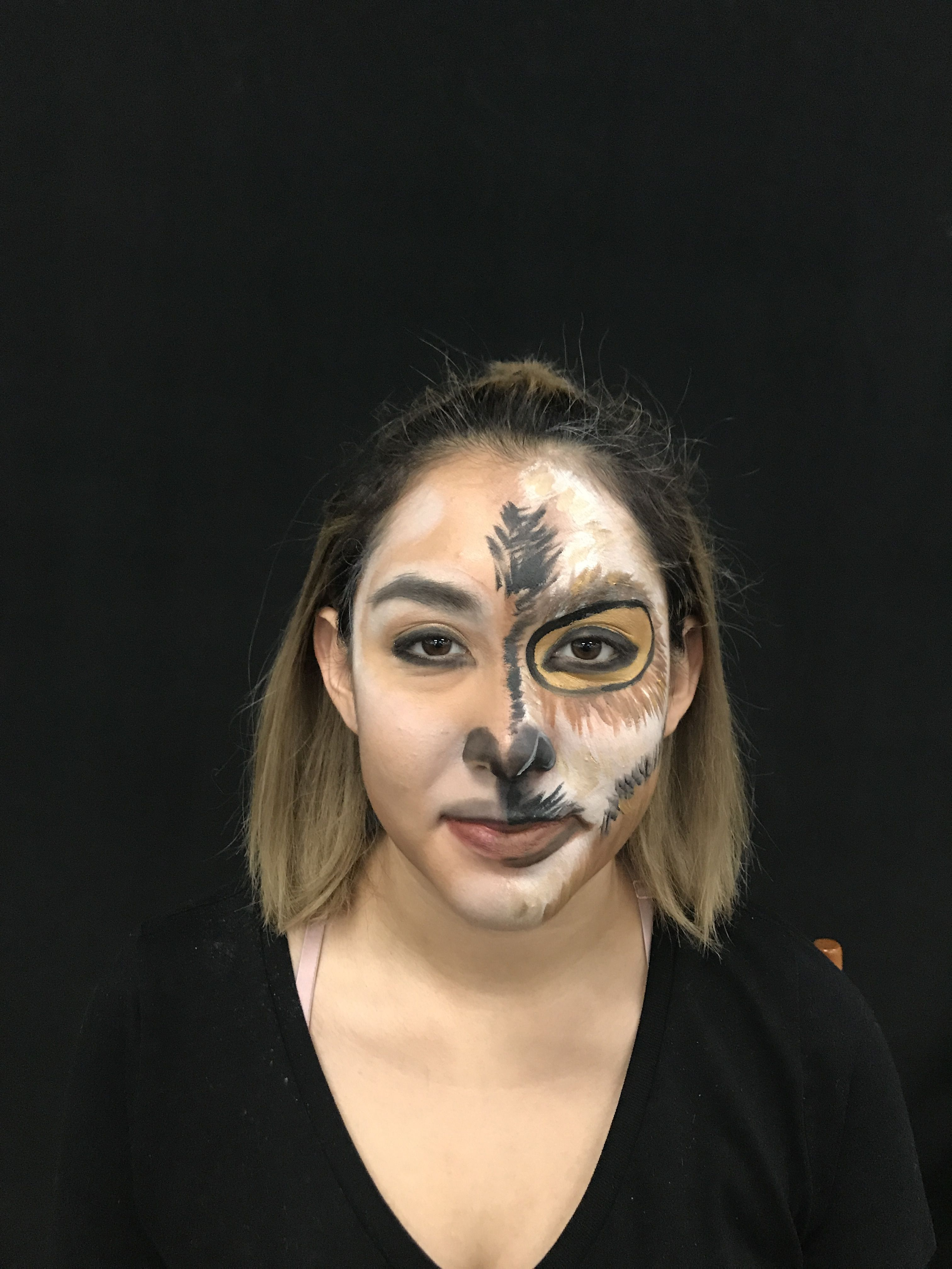 Goat Demo by Shanna of Style by Shanna for Stage Makeup at