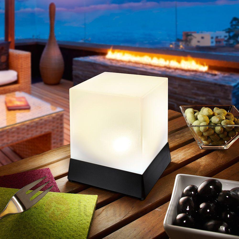 Lampe à Poser LED Solaire Cubique Cube