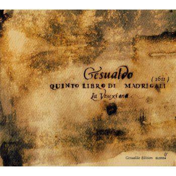 G.D. Venosa Quinto Libro Di Madrigali | Products | Pinterest