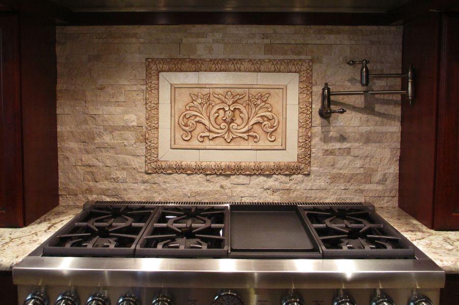 High Quality Kitchen Backsplash Medallions, Mural Insert For Your Kitchen Backsplash