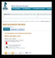 Wake Up Now Is Accredited Better Business Bureau Now That Should