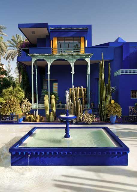 Jardin Majorelle Marrakech Yves St Laurent Google Search