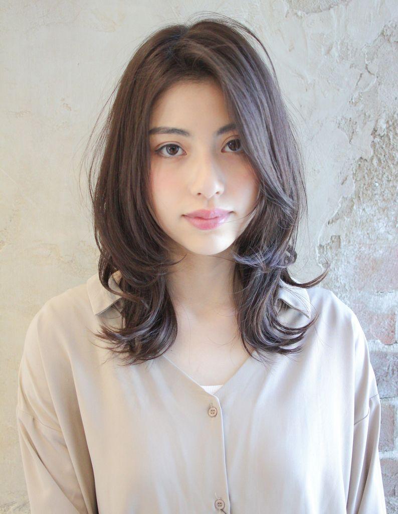 キュッと外はね大人ミディアム(TK−132) | ヘアカタログ・髪型・ヘアスタイル