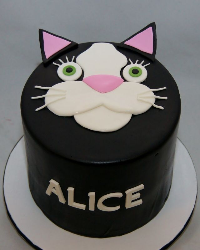 Alices Cat Birthday Cake at LAVO NYC celebration cakes