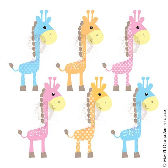 cute giraffe clipart baby giraffe animals digital clip art baby rh pinterest co uk clipart baby giraffe baby giraffe clipart images