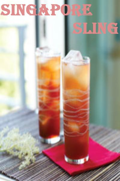 Asian style cocktails