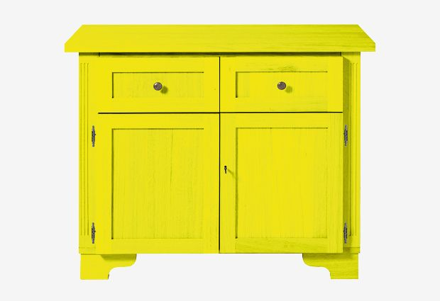 Ral 1026 Briljantgeel L 109 5 X B 49 5 X H 92 Cm Furniture Home Decor Decor