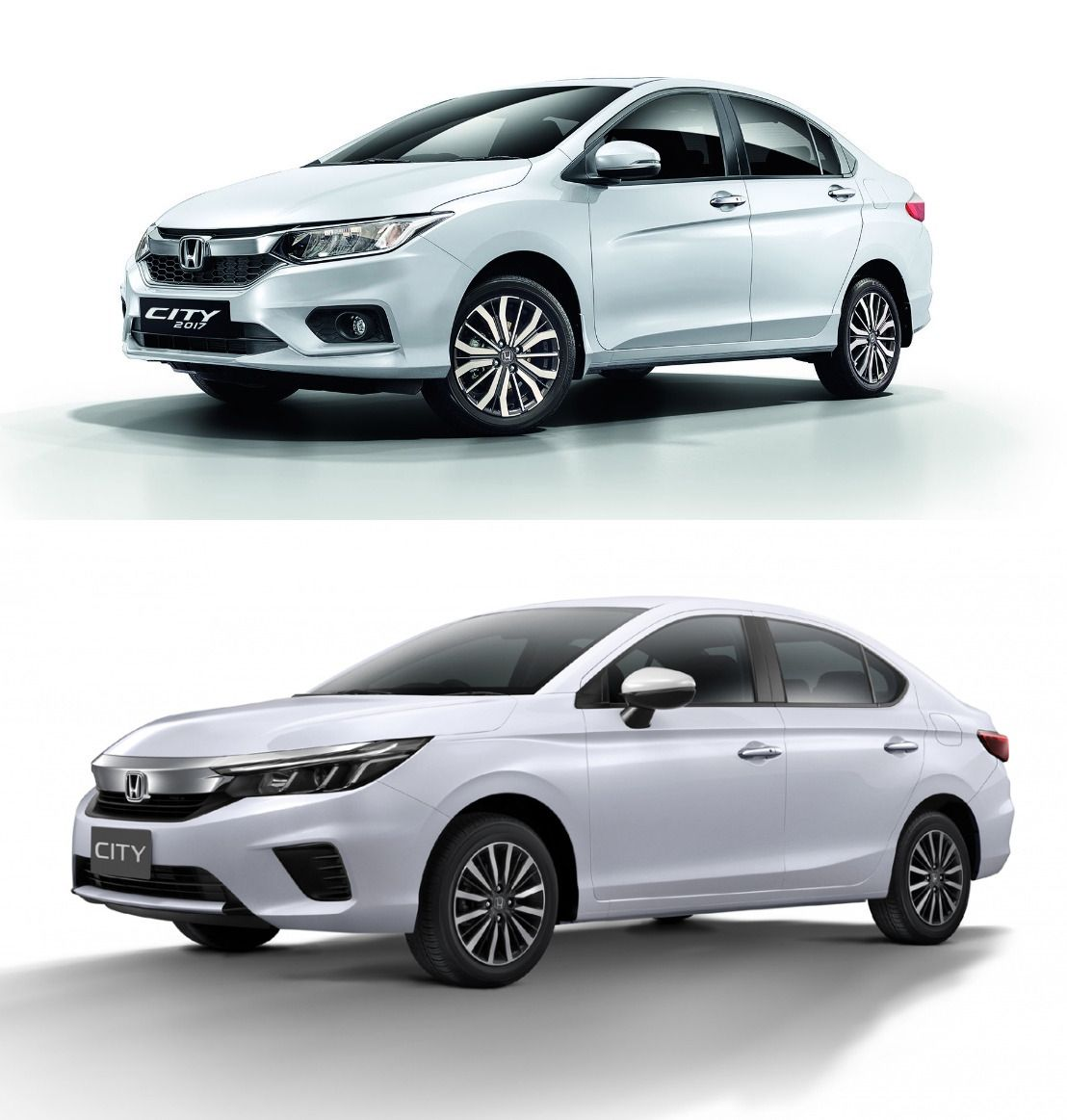 2020 Honda City vs. 2017 Honda City New vs. Old Honda