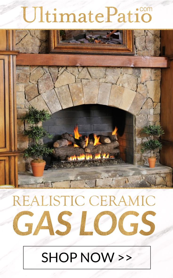 Gaslogsets Are A Convenient Alternative To Real Wood During Cold