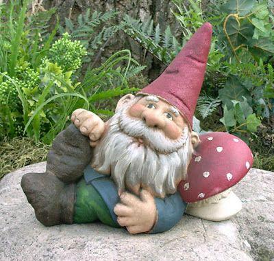 Gnomos de Jardim - Garden Gnomes | Gnomo de jardim, Jardim de ...
