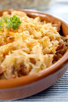 Vegan Sauerkraut Casserole Looks Amazing Vegan And