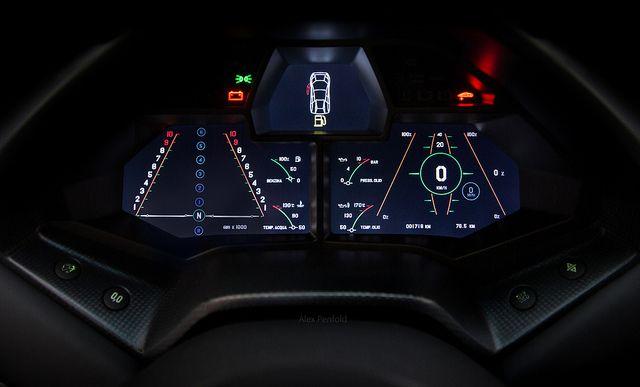 Ready For Flight Beautiful Automobiles Dashboard Design Car Ui