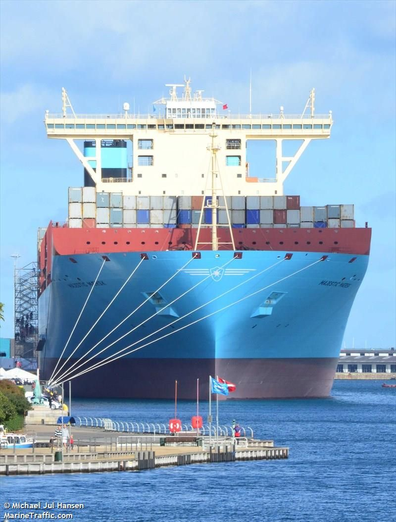 MAJESTIC MAERSK (MMSI: 219018501) Ship Photos | AIS Marine Traffic | SHIPS CARGO and PASSENGER ...