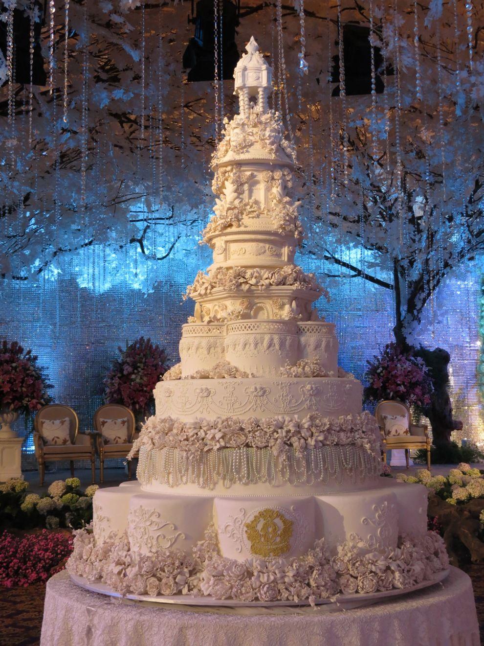 8 Tiers - Le Novelle Cake   Jakarta & Bali Wedding Cake   wedding ...