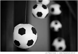 Resultado de imagem para festa aniversário futebol