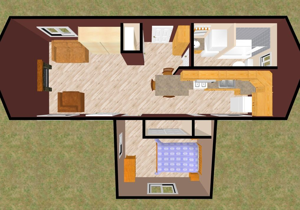 Pin By Kaylee On Tiny Home Tiny House Floor Plans House Floor Plans Small House Plans