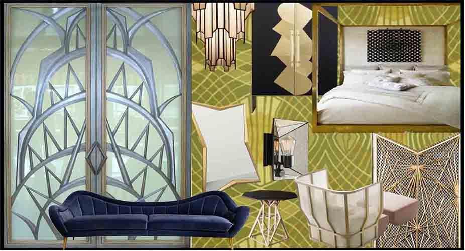 Art Deco Concept Decor H2designo Interiors