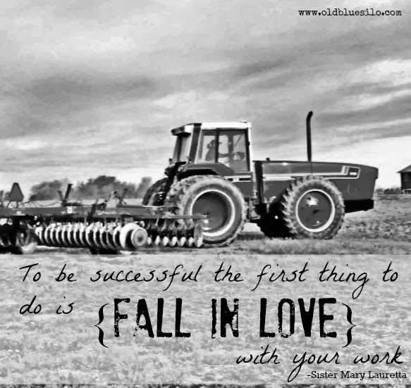 Ag Quote Old Blue Silo  All About Ag  Pinterest  Farming Farming Life And .