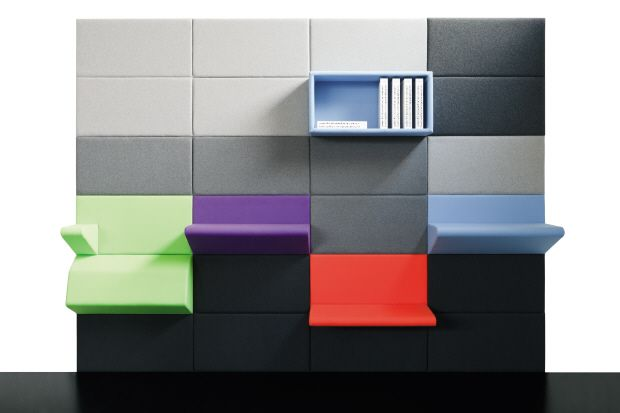 Ahrend Living Wall with insertions | neat objects | Pinterest