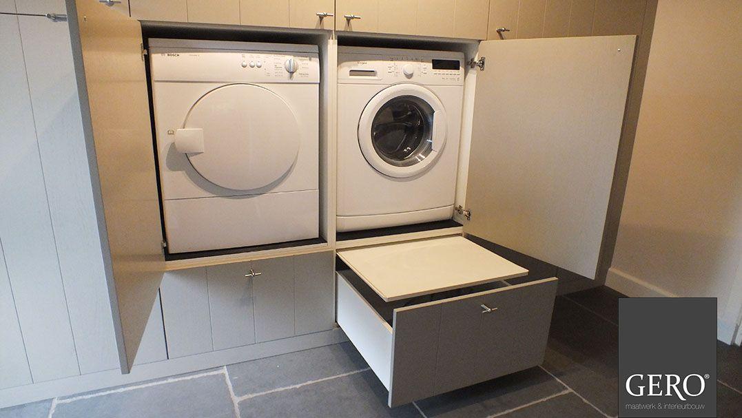 Gero Maatwerk Interieurbouw Door Het Wasmachine En De