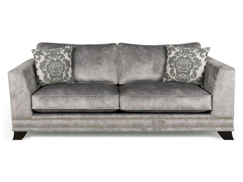 Pallas 4 Seater Sofa Standard Back | Vinyl rug, Sofa shop ...