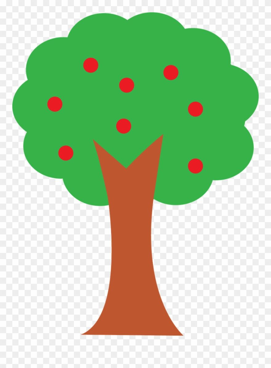 Apple Tree Clipart Png Transparent Png 256452 Is A Creative Clipart Download The Transparent Clipart And Use It For Free Tree Clipart Tree Crafts Clip Art