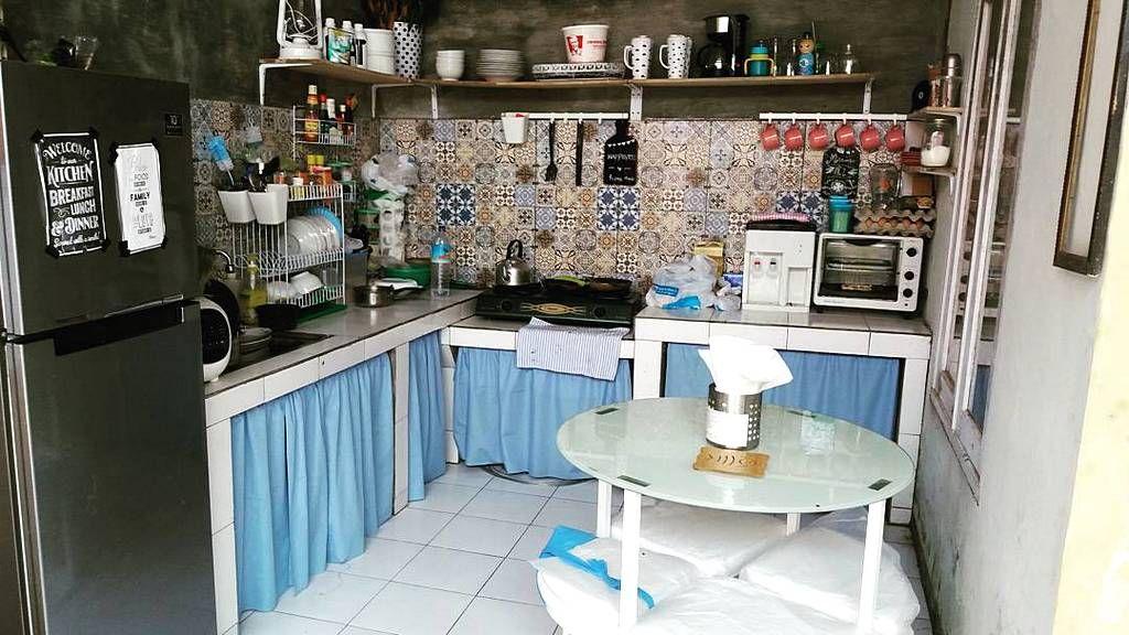 Desain Dapur Sederhana Tanpa Kitchen Set Ukuran Kecil